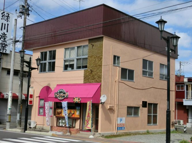 027キッチンナイフとフォーク様店舗外装リフォーム|福島県矢吹町の画像1