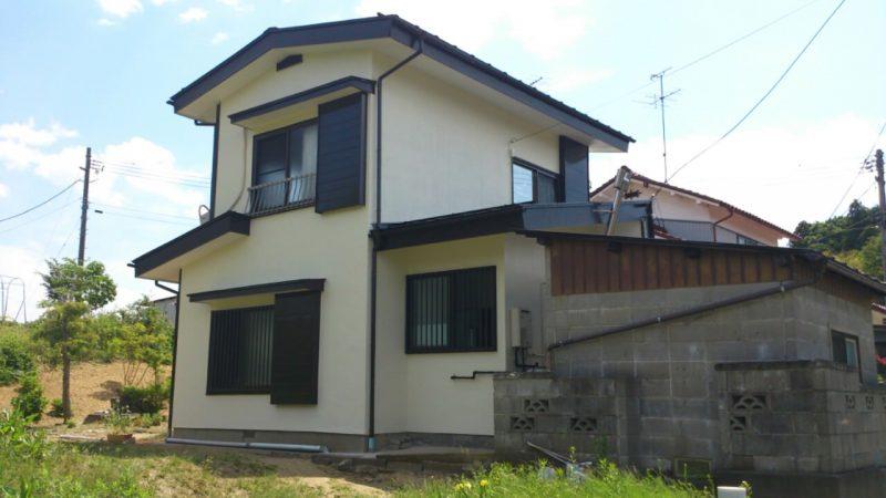 004S様邸外壁塗装工事|福島県須賀川市の画像1