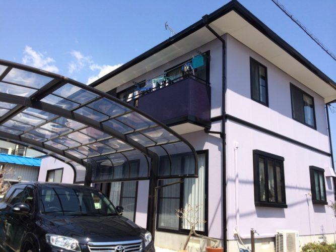 014T様邸外壁塗装リフォーム|福島県須賀川市の画像1