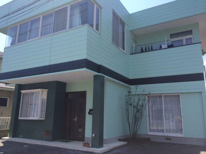 015H様邸外壁塗装工事|福島県白河市の画像1
