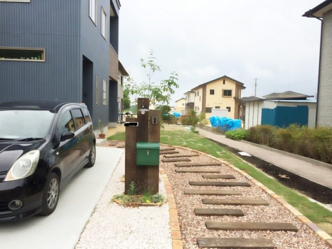 016K様邸外構工事|福島県西郷村の画像2