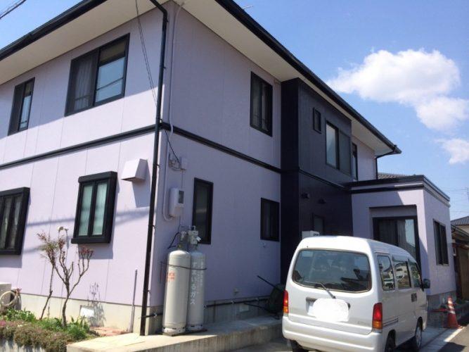 014T様邸外壁塗装リフォーム|福島県須賀川市の画像2
