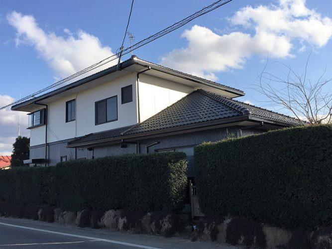 043Y様邸屋根・外壁塗装工事|福島県鏡石町の画像2