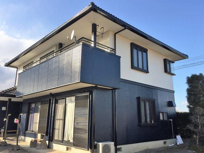 043Y様邸屋根・外壁塗装工事|福島県鏡石町の画像1