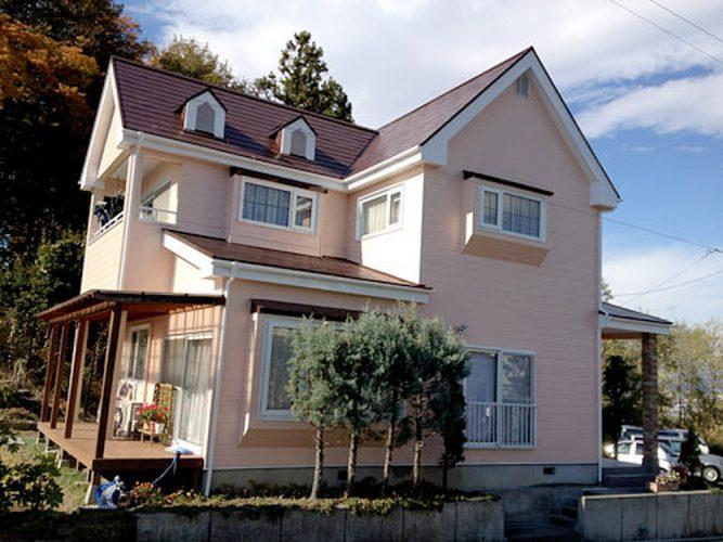 001S様邸屋根、外壁塗装リフォーム|福島県郡山市の画像2