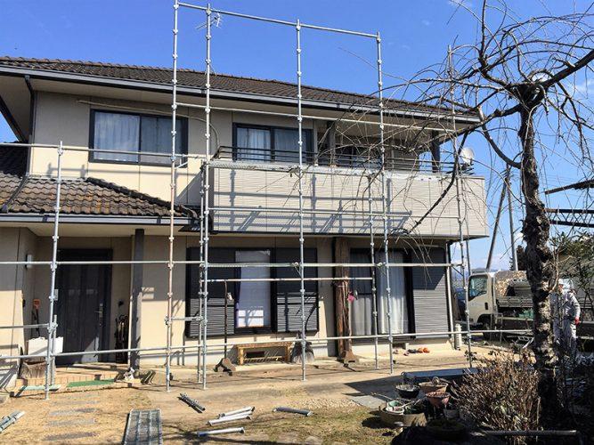 043Y様邸屋根・外壁塗装工事|福島県鏡石町の画像3