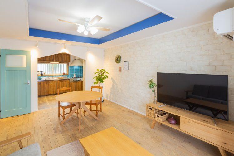 ほっこり癒しの海外カントリー風リノベーションの家の画像2