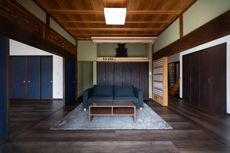 伝統と思い出を受け継ぐ和風モダンリノベーションの家の画像1