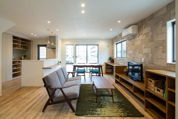 家事楽導線でスマートにシンプルに暮らす家の画像1