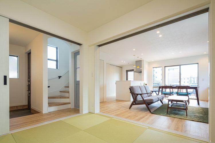家事楽導線でスマートにシンプルに暮らす家の画像3