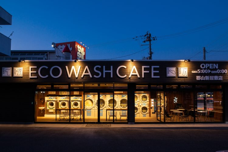 ECO WASH CAFE郡山新屋敷店様店舗リノベーションの画像9