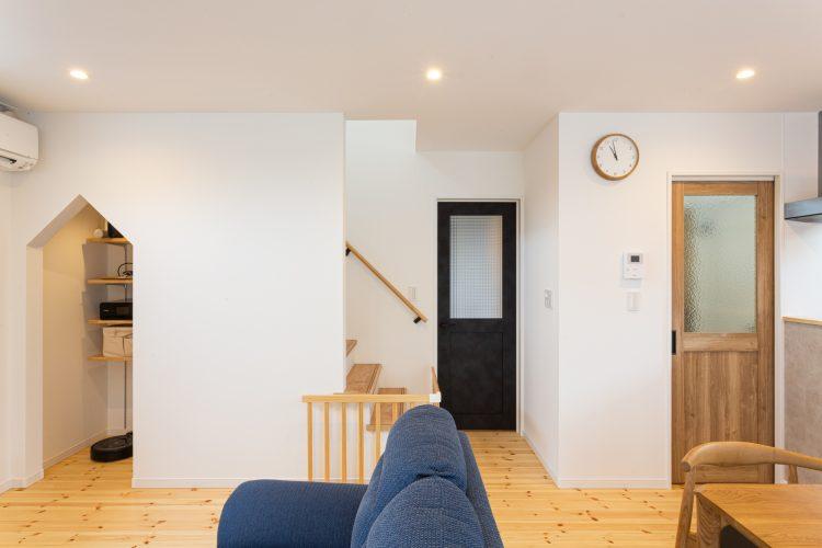 自然素材が温かい、癒しの家の画像6